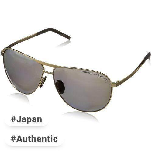 9244977dd54 Porsche Design Glasses P8642 Men s Gold polarization Japan 62 Free size