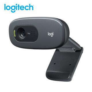 Webcam Logitech C270 HD, Webcam Thẻ Video 720P Ống Kính Quang Học 720P Camera Vi Tính Mini Cắm Và Chạy USB 2.0 Giảm Tiếng Ồn Cho PC Máy Tính Xách Tay thumbnail