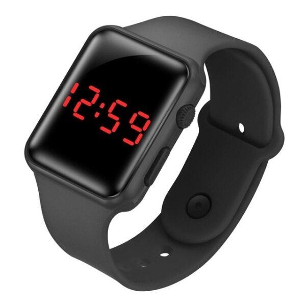 LED watch zegarek relojes wristwatch relogio feminino horloges reloj digital electronic boys girls kids watches montre orologi Malaysia