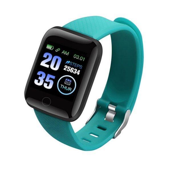 Đồng Hồ Thông Minh 116 Plus, Máy Đo Huyết Áp Nam Nữ, Tập Thể Dục Tracker Vòng Đeo Tay Tim Tỷ Lệ Smartwatch Đồng Hồ Thông Minh Android IOS