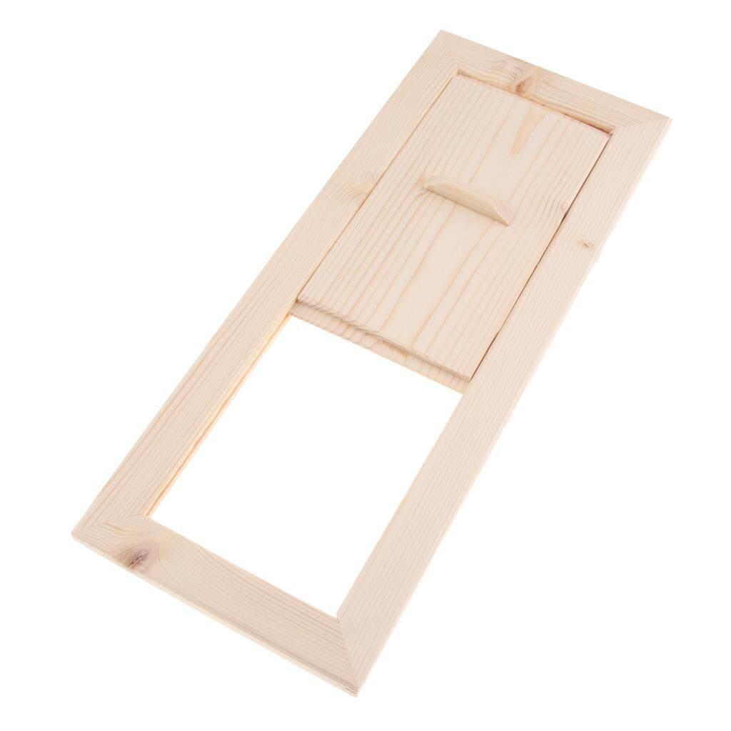 MagiDeal 3 Pieces Cedar Sauna Air Ventilation Panel, 13x5.1inch, Sauna Accessories