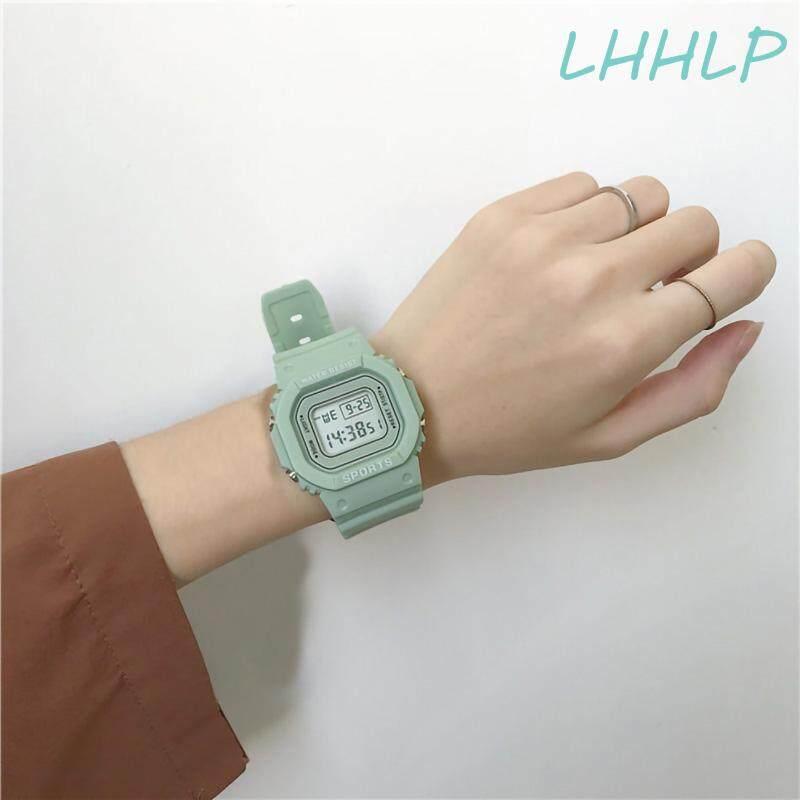 Mint Green Sports LED Luminous Electronic Watch For Women Multifunctional Fashion Casual Ladies Student Girl Digital Wristwatch Malaysia