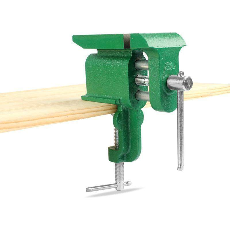 Household Bench Clamp Base Vise With Anvil Plane Tapping Multi-function Fixture