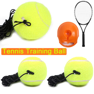 Homehold Professional Trainer Indoor Tennis Training Ball Elastic Rope Practice Rebound thumbnail
