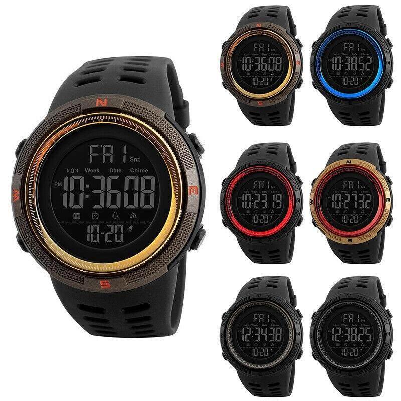 SKMEI Watch Fashion Mens Women Smart Watch Bluetooth Digital Sports Wrist Waterproof Malaysia