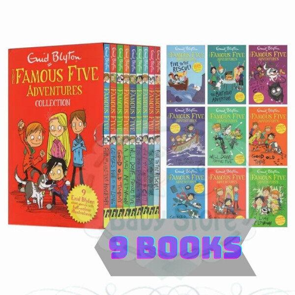 Enid Blyton Famous 5 adventures collection 9 BOOKS Malaysia