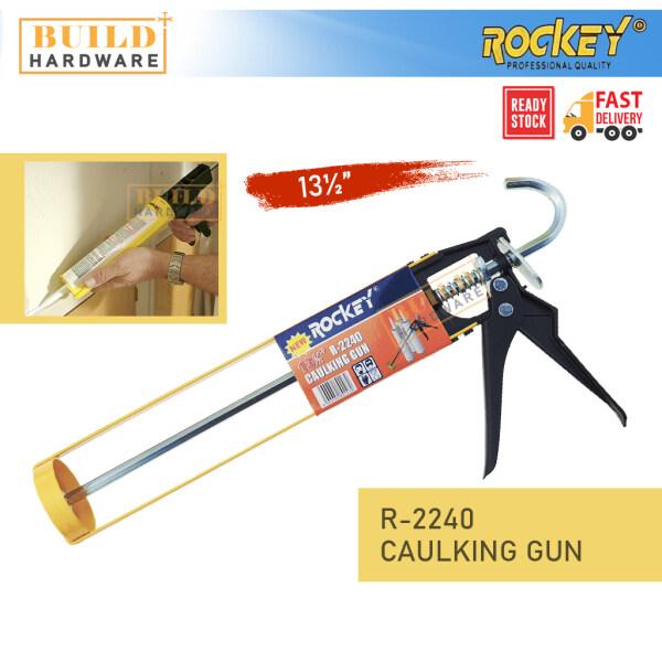 ROCKEY R-2240 Caulking Gun 13.5 For Cartridge Caulk Tool Pressing Inject Silicone Sealant Alat Silikon