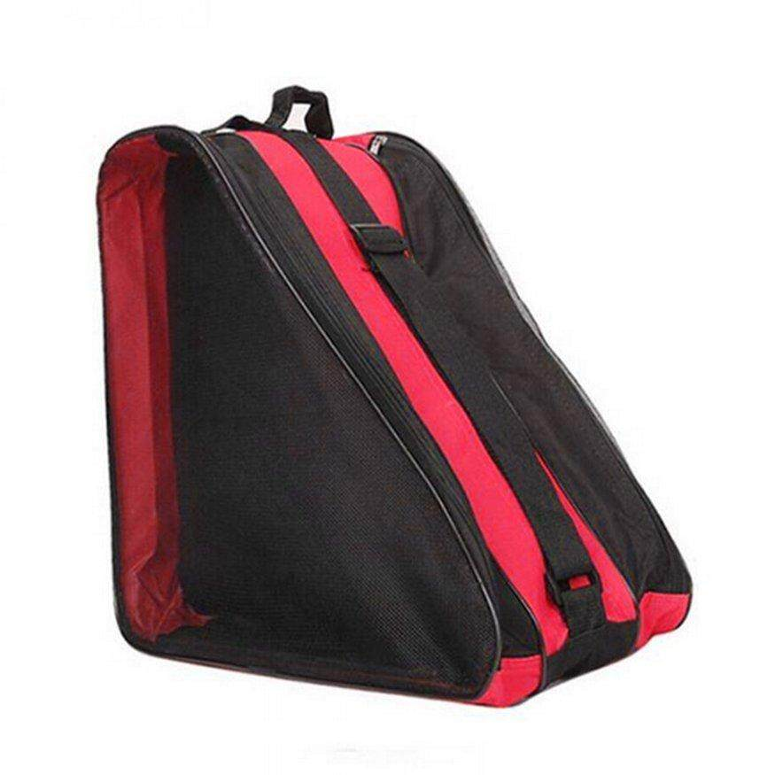 Top Deals Portable Size Large Ice Skate Roller Blading Carry Bag Storage Bag With Shoulder Strap For Kids Adults By Legendseller.
