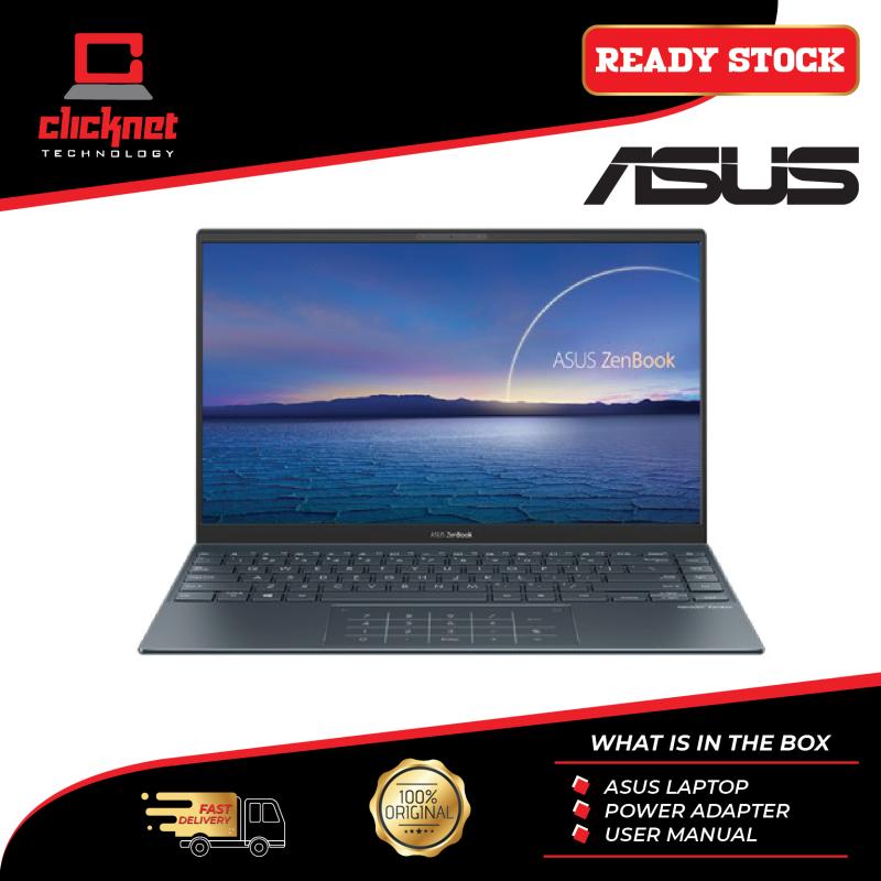ASUS ZENBOOK  UX425E-ABM067TS (I5-1135G7, 8GB, 512GB SSD, INTEL UHD, GREY W10) Malaysia