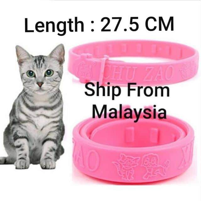 130f8a705 Adjustable Pet Cat Dog Collar Protection Neck Ring Flea Tick Mite Louse  Remedy