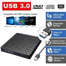 3.0 DVD RW CD Writer PC Máy Tính Xách Tay Di Động P0pup Di Động USB Cắm Ngoài Ổ Ghi Đĩa Đầu Đọc Máy Nghe Nhạc