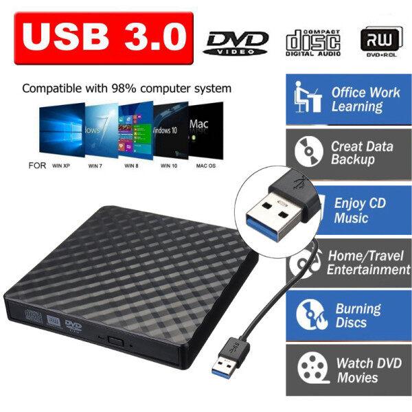 Bảng giá Đầu Đọc Ghi Ổ Đĩa Gắn Ngoài DVD RW CD USB 3.0 Mỏng Máy Nghe Nhạc Ổ Đĩa Quang USB3.0 Chải Ngoài, Cho Máy Tính Xách Tay Máy Tính Xách Tay Đầu Ghi Đĩa CD Đa Năng Để Bàn Phong Vũ