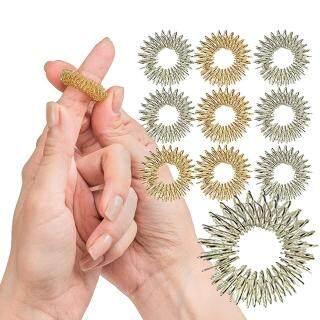 Laputa 10 Chiếc Gai Massage Nhẫn Fidget Giác Quan Cho Trẻ Em Và Người Lớn Chăm Sóc Sức Khỏe Đồ Chơi Dụng Cụ thumbnail
