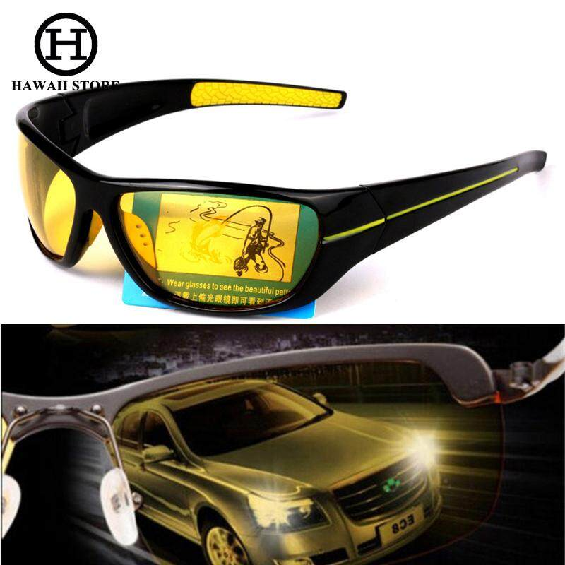 41b5b061df7 HAWAII Polarized Professional Night Driving glasses Anti Glare Glasses For  Safety Driving Glasses HD Night Vision
