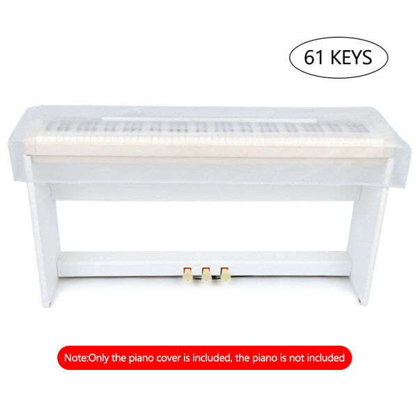 Transparent Grind Arenaceous Piano Cover Digital Piano Keyboard Dustproof and Waterproof Cover Malaysia