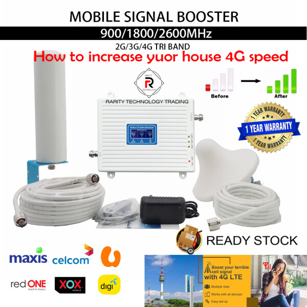 【Ready Stocks】Mobile Signal Booster Malaysia