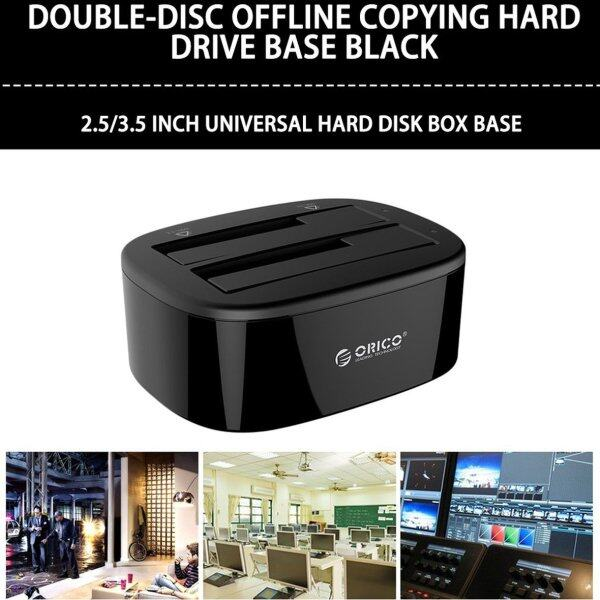 Bảng giá ORICO Đế Hộp Đĩa Cứng Thông Dụng USB3.0 2.5/3.5 Inch Dual Bay USB3.0 6228US3-BK Phong Vũ