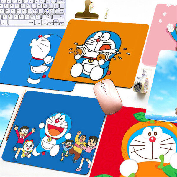 Cartoon Mouse Pad Doraemon Printed Mouse Pad Desktop Pad Computer Mouse Pad Malaysia