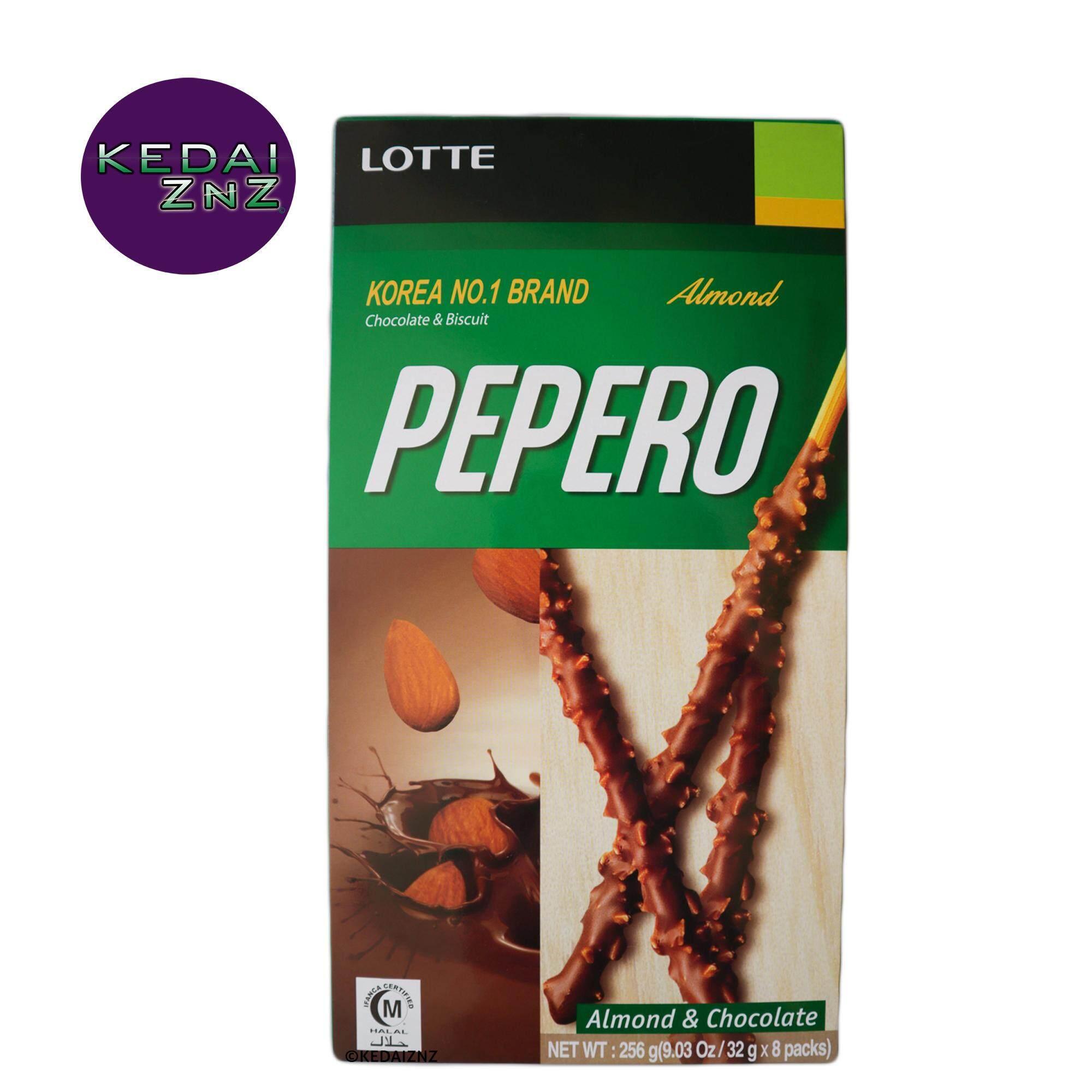 Chocolate LOTTE PEPERO Almond Box 256 g Coklat