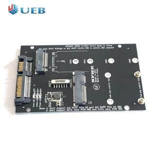 Bộ Chuyển Đổi SSD Bộ Mở Rộng Thẻ Mở Rộng MSATA SSD Sang SATA 7 15Pin Card 2 Trong 1 Máy Tính Riser thumbnail