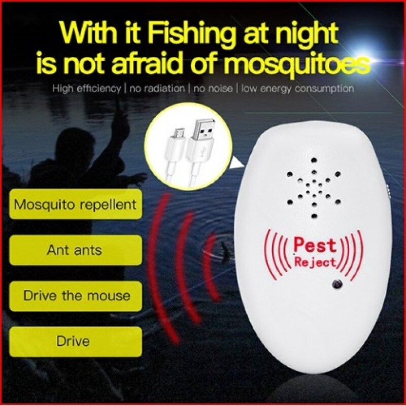 Insect Killer Ultrasonic Pest Reject Electronic Mice Repeller Anti Mosquito Ultrasonic Pest Repeller Electronic Mosquito Killer Reject Bug Mosquito Cockroach Mouse Pest Killer Repeller \ Max connect store