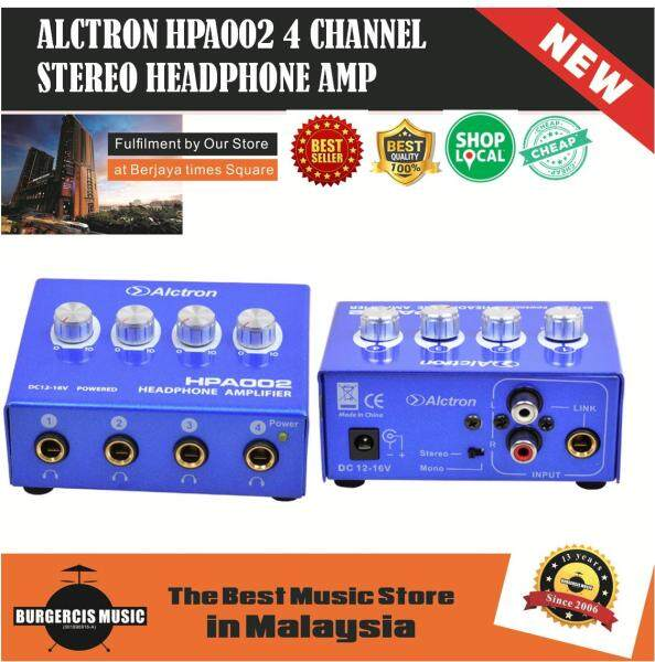 ALCTRON 4 Channel Stereo Headphone Amplifier Malaysia