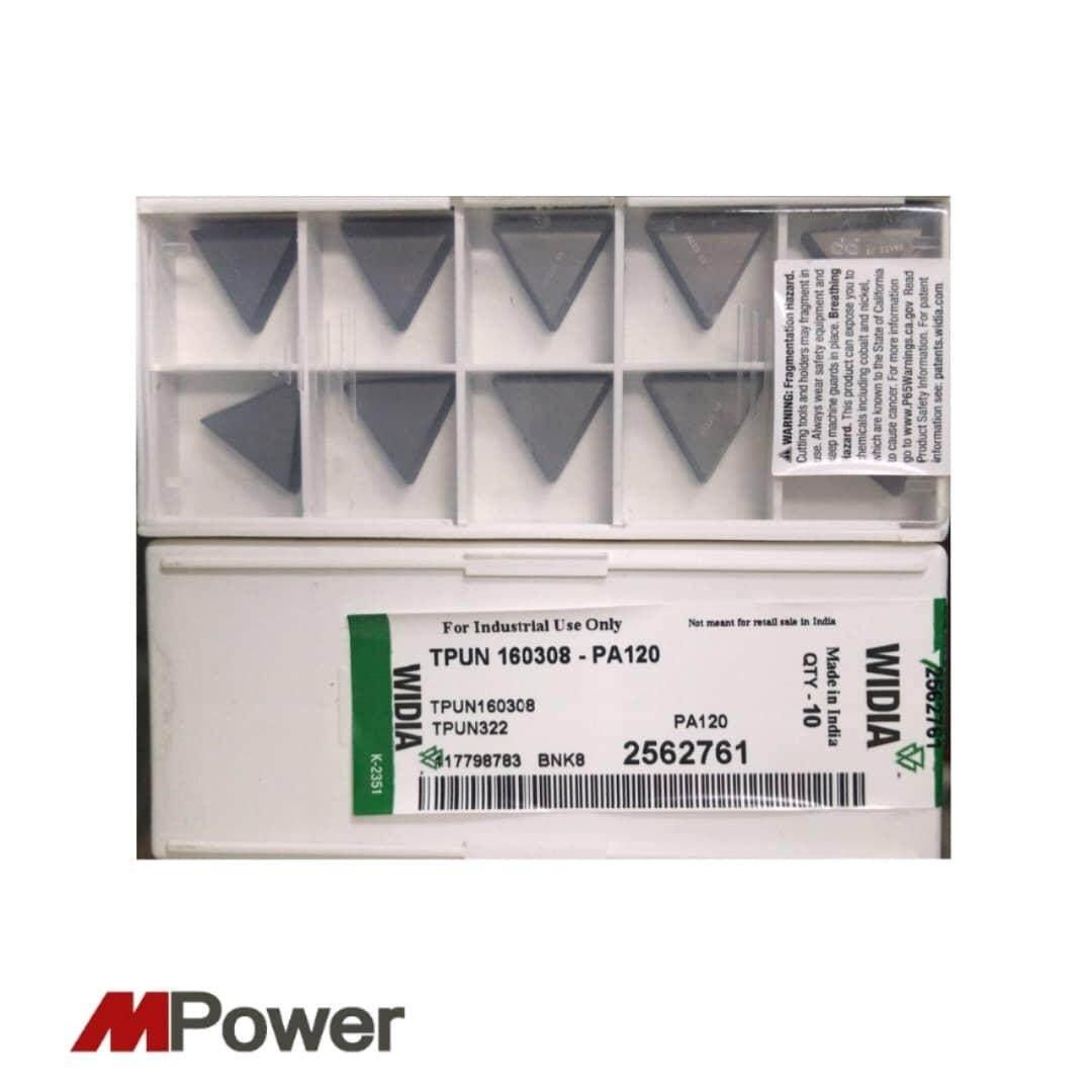 WIDIA Carbide Inserts TPUN 160308 (10 pcs)