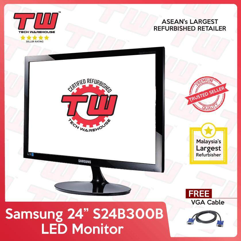 Samsung 24 S24B300B LED Monitor (Factory Refurbished) Malaysia
