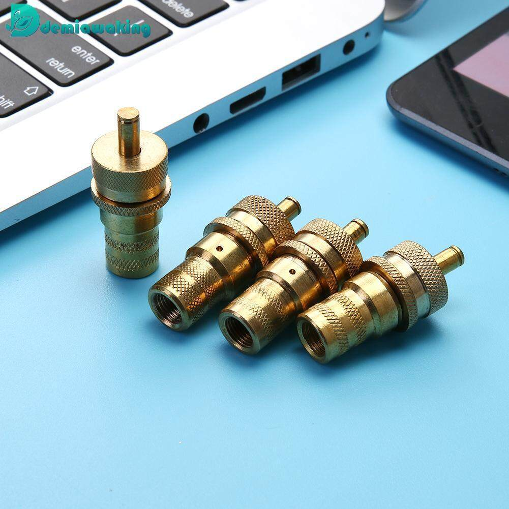 4pcs Universal Brass Off Road Automatic Tire Pressure Deflators 6-30PSI