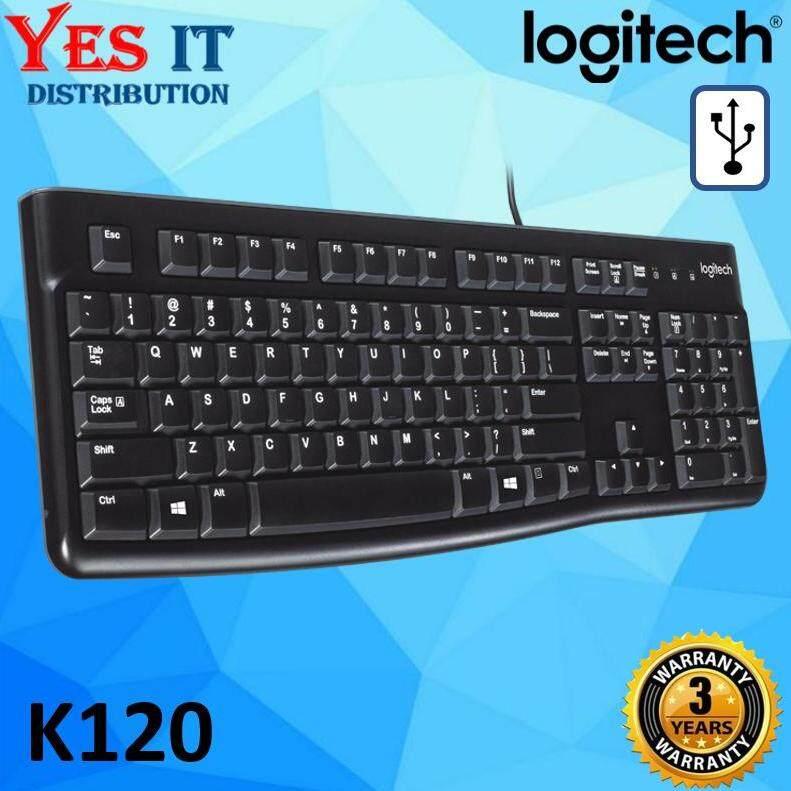 LOGITECH K120 USB WIRED KEYBOARD Malaysia