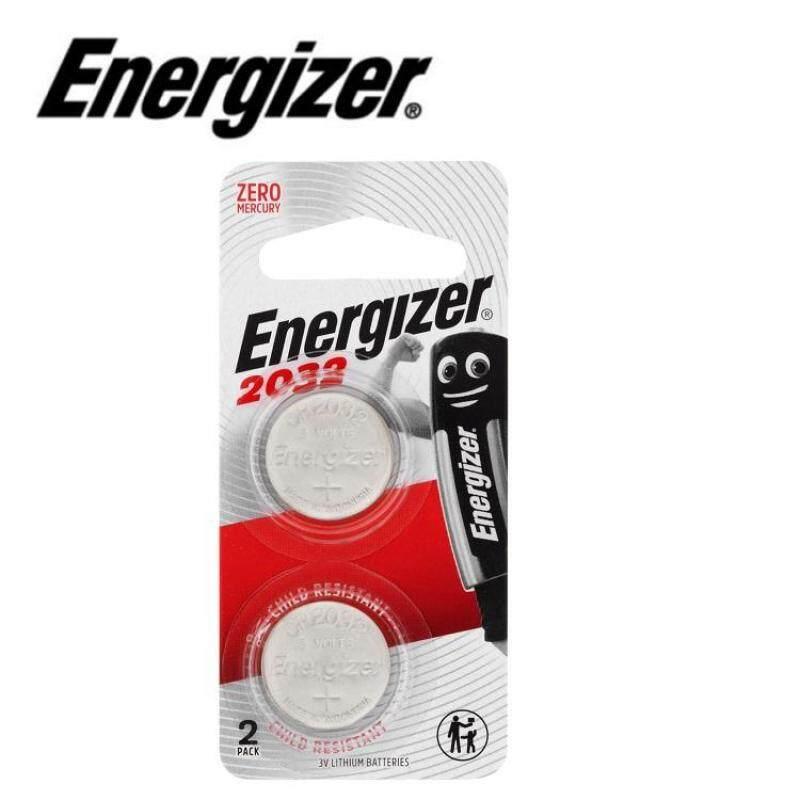 2PCS CR2032 GENUINE Energizer Lithium Batteries 3V (E-CR2032BP-2) Malaysia