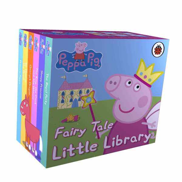 Peppa Pig Fairy Tale Little Library (Palm-Sized Toddler Board Books) Malaysia