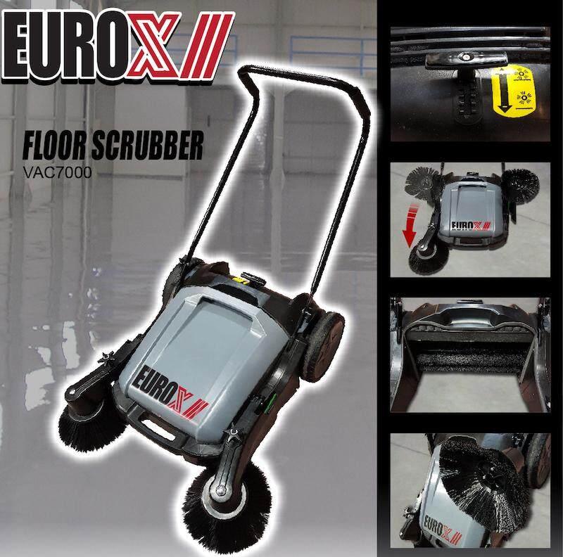 EUROX VAC7000 Manual Floor Scrubber Sweeper Sweeping Machine