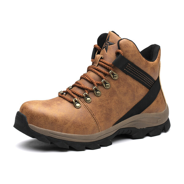 Safety Shoes, High-top Anti-smashing, Anti-piercing, Oil-resistant Labor Protection Shoes, Waterproof, Non-slip, Wear-resistant Safety Protection Work Shoes and Boots