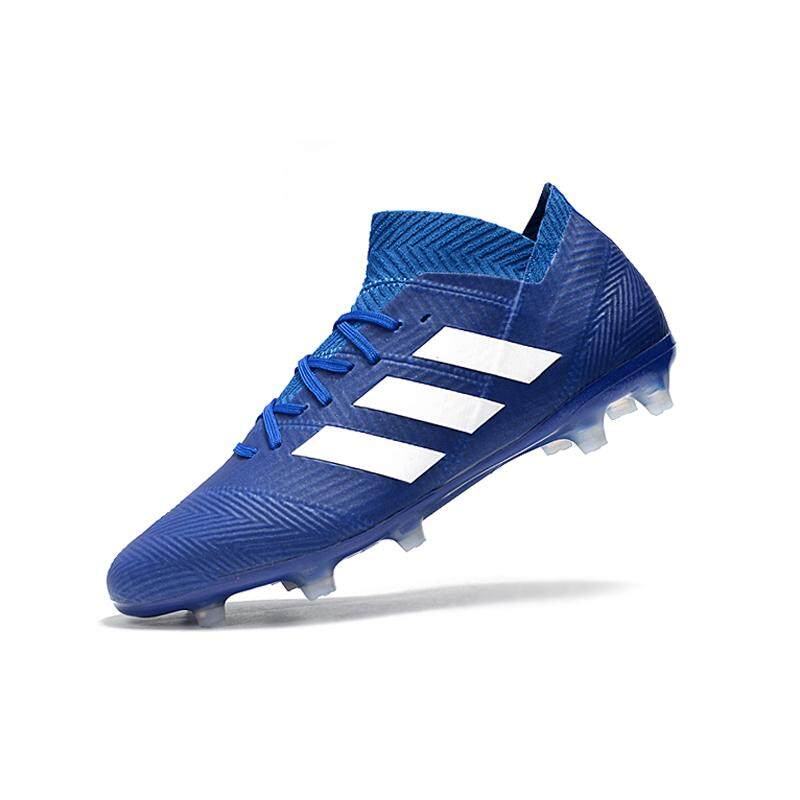 7bbc61d7da62 Football Boots Superfly Original Knitted FG Nail Sports Shoes Nemeziz Men s  Soccer Shoes Messi 18.1 FG