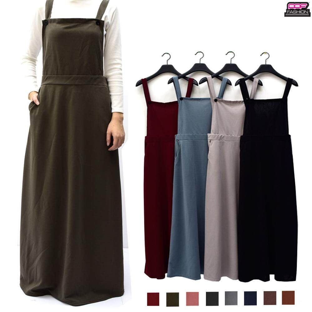 685 Maxi Jumpsuit Skirt With Shoulder Strap  Aulia Dress (03822) 85862adf03bc