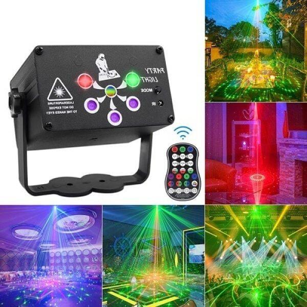 Đèn Sân Khấu RGB 248/128 Mẫu Đèn Sàn Nhảy Điều Khiển Bằng Giọng Nói USB Đèn Chiếu Laser Cho Tiệc Tùng Tiệc Tùng KTV