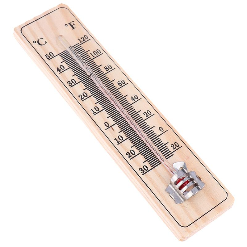 Wall hanging thermometer for indoors outdoors garden greenhouse home office P