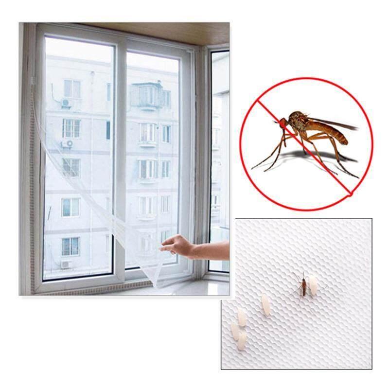 [Chinatera] Màn Hình Bay 150X130Cm Côn Trùng Bay Muỗi Cửa Sổ Lưới Màn Hình Trắng