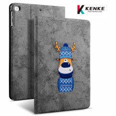 Ốp iPad KENKE Thích Hợp Cho Dòng iPad 9.7 Inch IPad Air1 , iPad Air2 Vỏ IPad2017-2018 IPad7.9 Inch Mini123 IPad2019 IPadAir3 10.5 Inch Ốp Thêu 3D Ốp Thông Minh Làm Mát Tổ Ong Bảo Vệ Bằng Silicon