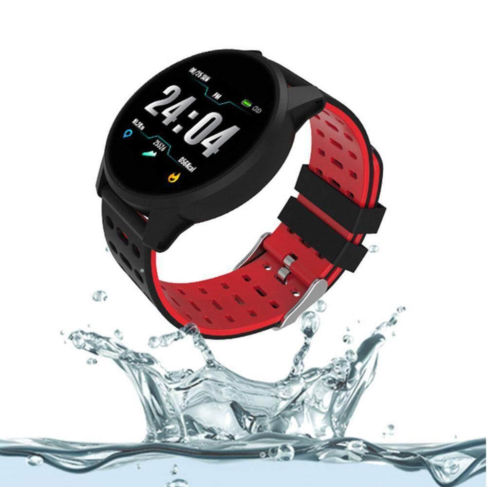Blushine Jam Pintar Bluetooth Smartwatch Unlocked Watch Ponsel Pemantau Fitness dengan Kartu SIM Slot Layar Sentuh