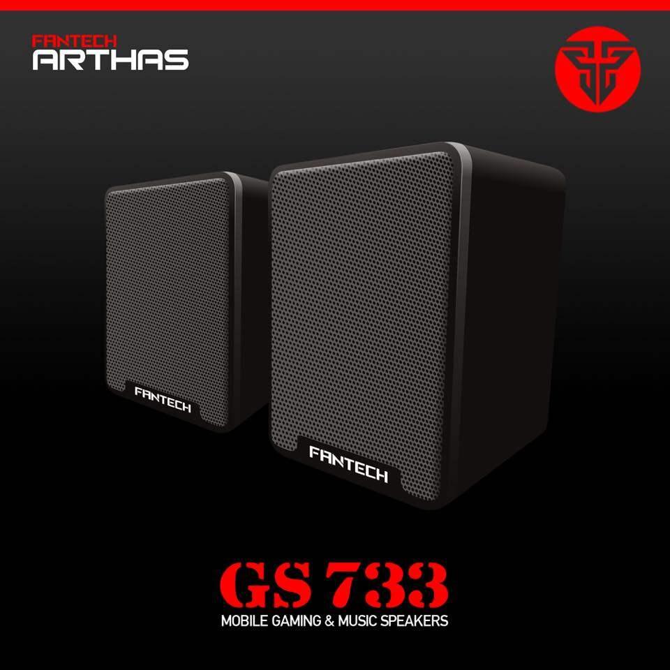 FANTECH GS733 Arthas 2.0 USB Speaker-Black Malaysia