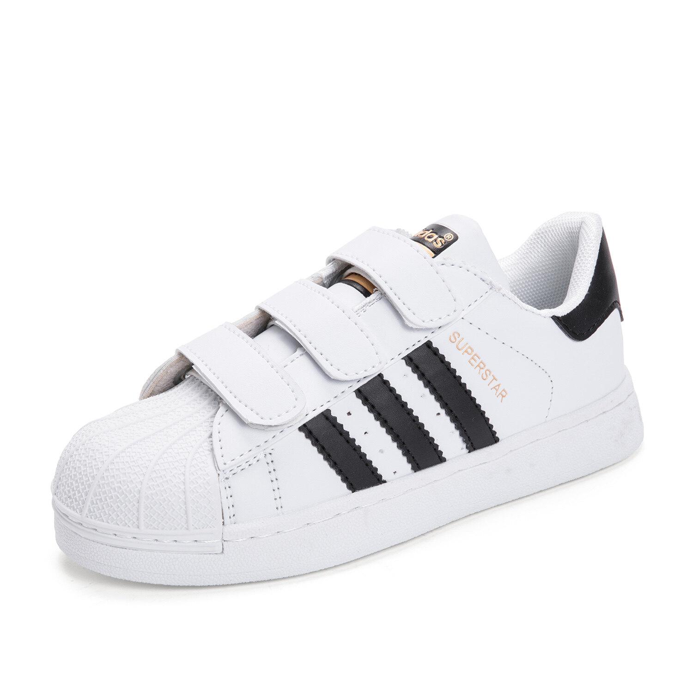 Adidas_superstar รองเท้าผ้าใบเรืองแสง Unisex ชายหญิงรองเท้าวิ่งรองเท้าแฟชั่นนักเรียนวัยรุ่นรองเท้ากีฬาคุณภาพสูงสบายๆลูกไม้รองเท้าเด็กรองเท้าเด็กสบาย.