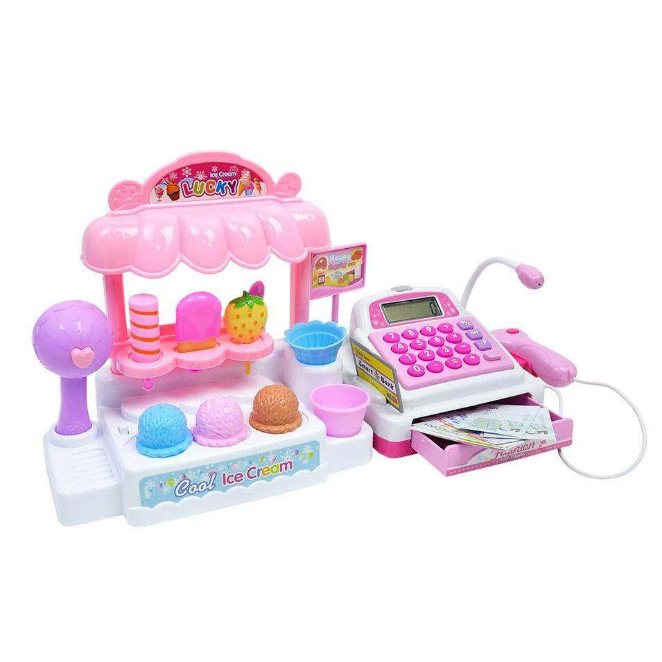 Hot Sales Light Music Mini Cashier Childrens Toy Game House By Befubulus.