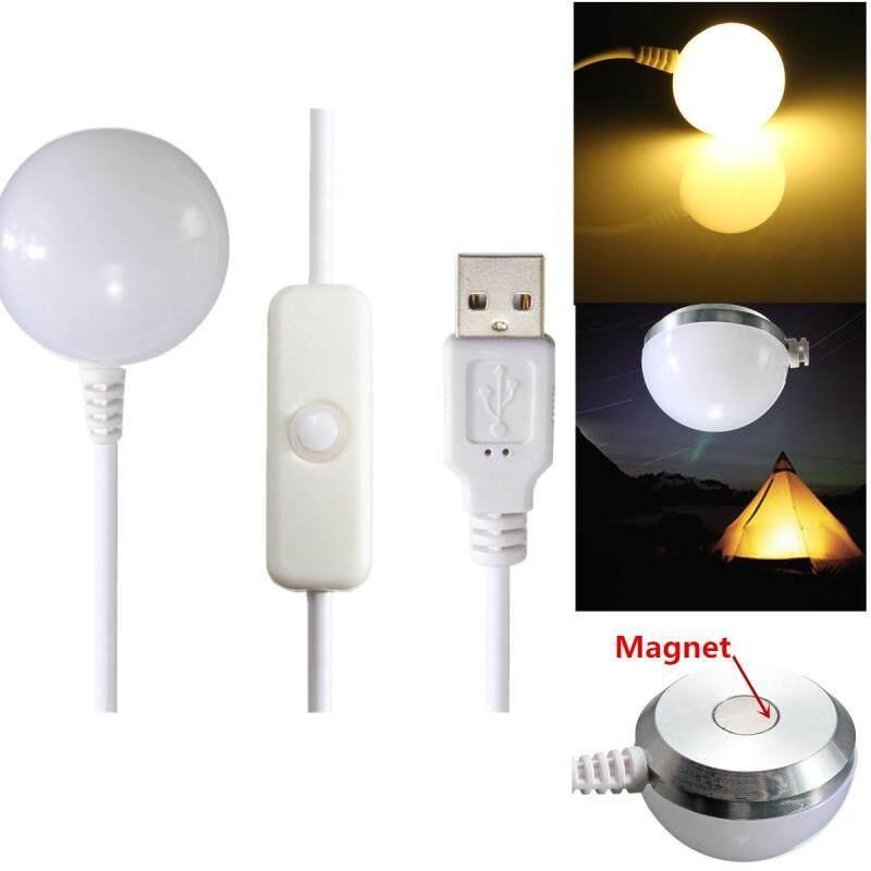 Bảng giá 【Free Vận Chuyển + Siêu Đối Phó + Hạn Chế Offer】USB Bóng Đèn LED mềm mại Đèn Đáy Từ Nhà Đọc Đêm Du Lịch Cắm Trại màu vàng, trắng Phong Vũ