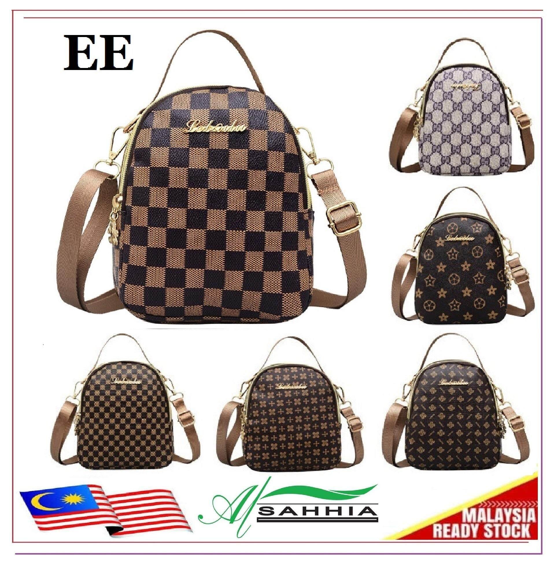 949bdae075 Al Sahhia Ready Stock Vintage 6 Fashion Messenger Sling Bag Handbag