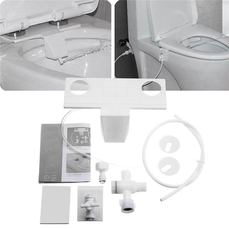 Bathroom Toilet Bidet Fresh Water Spray Seat Attachment Non-Electric