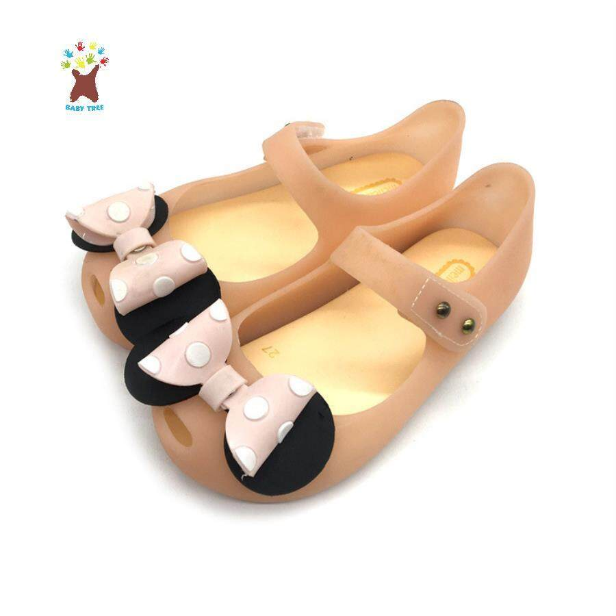 2019 New Girl Cute Jelly Shoes Princess Shoes Beach Shoes Childrens Bow Sandals Slip Baby Fashion By Ggx.