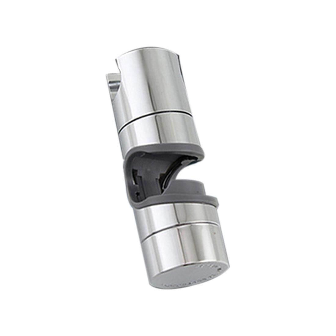 18~25mm Adjustable Abs Chrome Shower Rail Head Slider Holder Bracket Slide Clamp By Lolife.