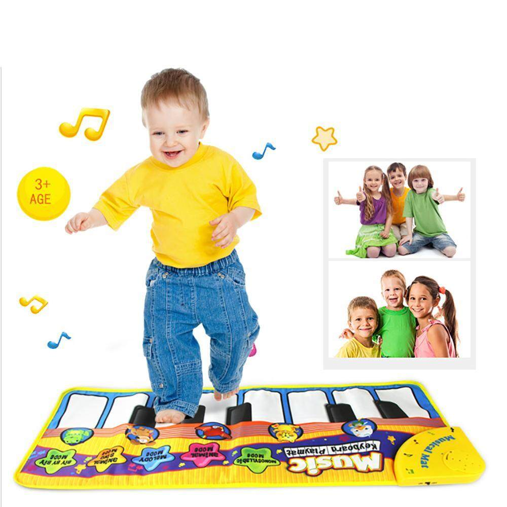 Etersummer Musical Dance Mat Kids Baby Touch Play Keyboard Music Singing Gym Carpet Mat Best Kids Baby Gift By Etersummer Store.